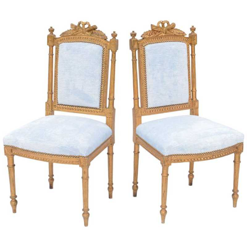 Pair of Louis XVI Gil... by  French  - Masterpiece Online