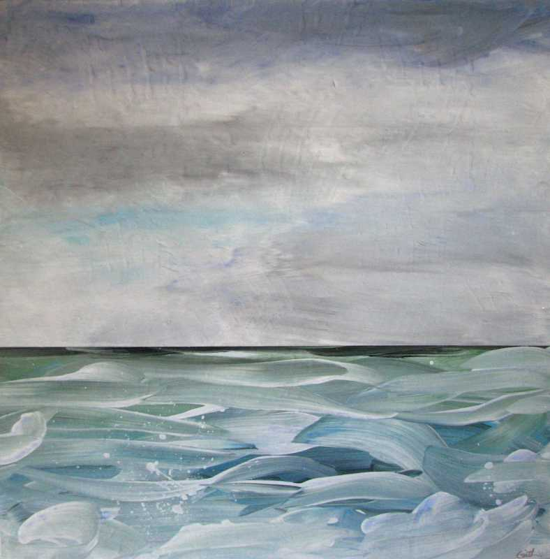 Pacific Blues 13 by  Curt Ginther - Masterpiece Online
