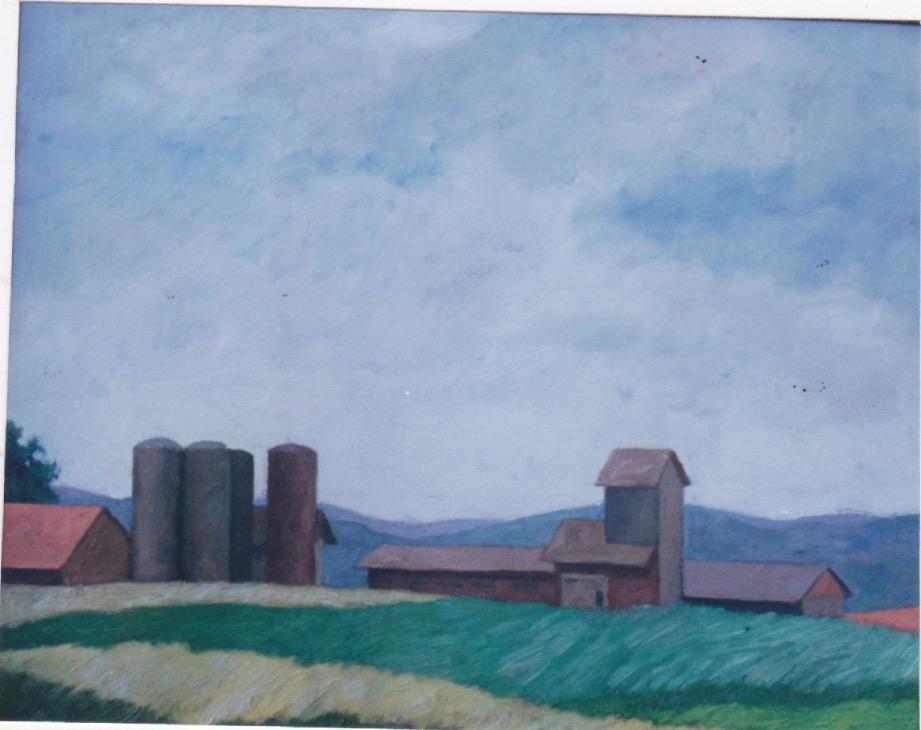 Storm on the Farm, Sw... by  Melissa Hefferlin - Masterpiece Online