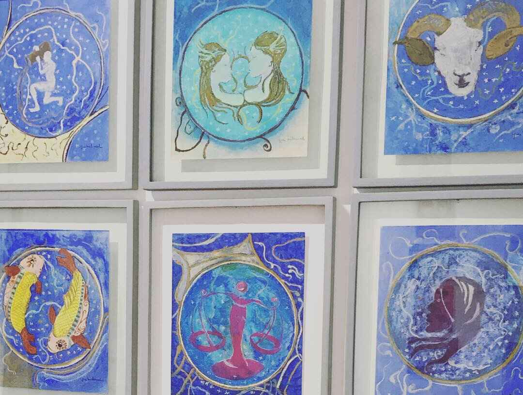 The Zodiac's 12 Signs by  Yves MICHAUD - Masterpiece Online
