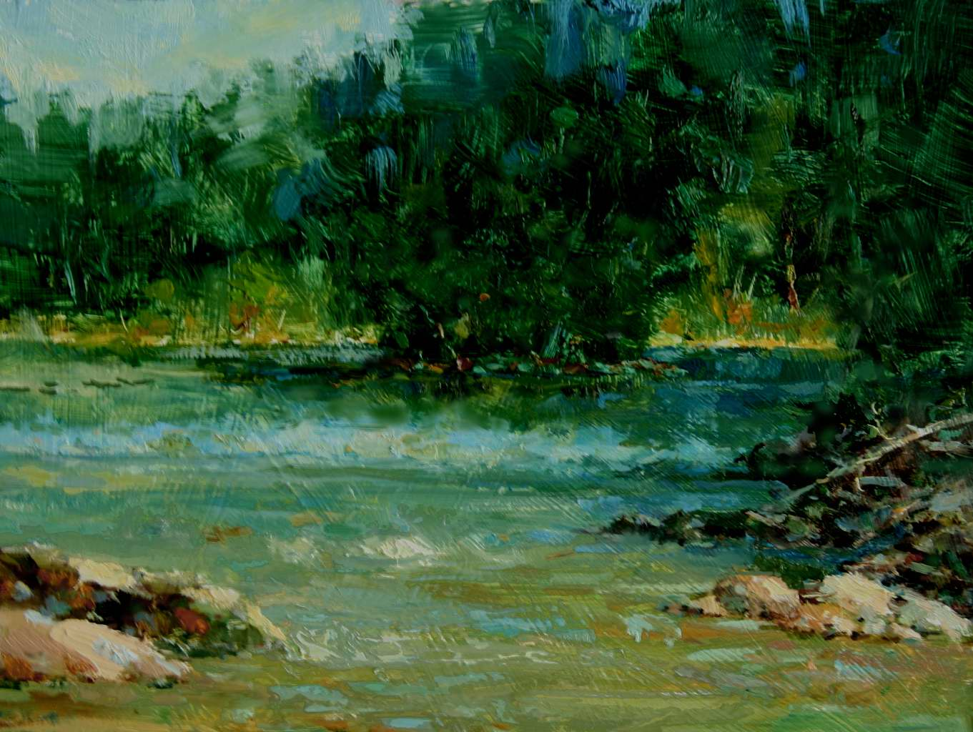 Summer on the Rio Lla... by Mr Eric Michaels - Masterpiece Online