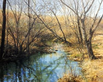 Mayes Creek, Overhang... by  Michael Wheeler - Masterpiece Online