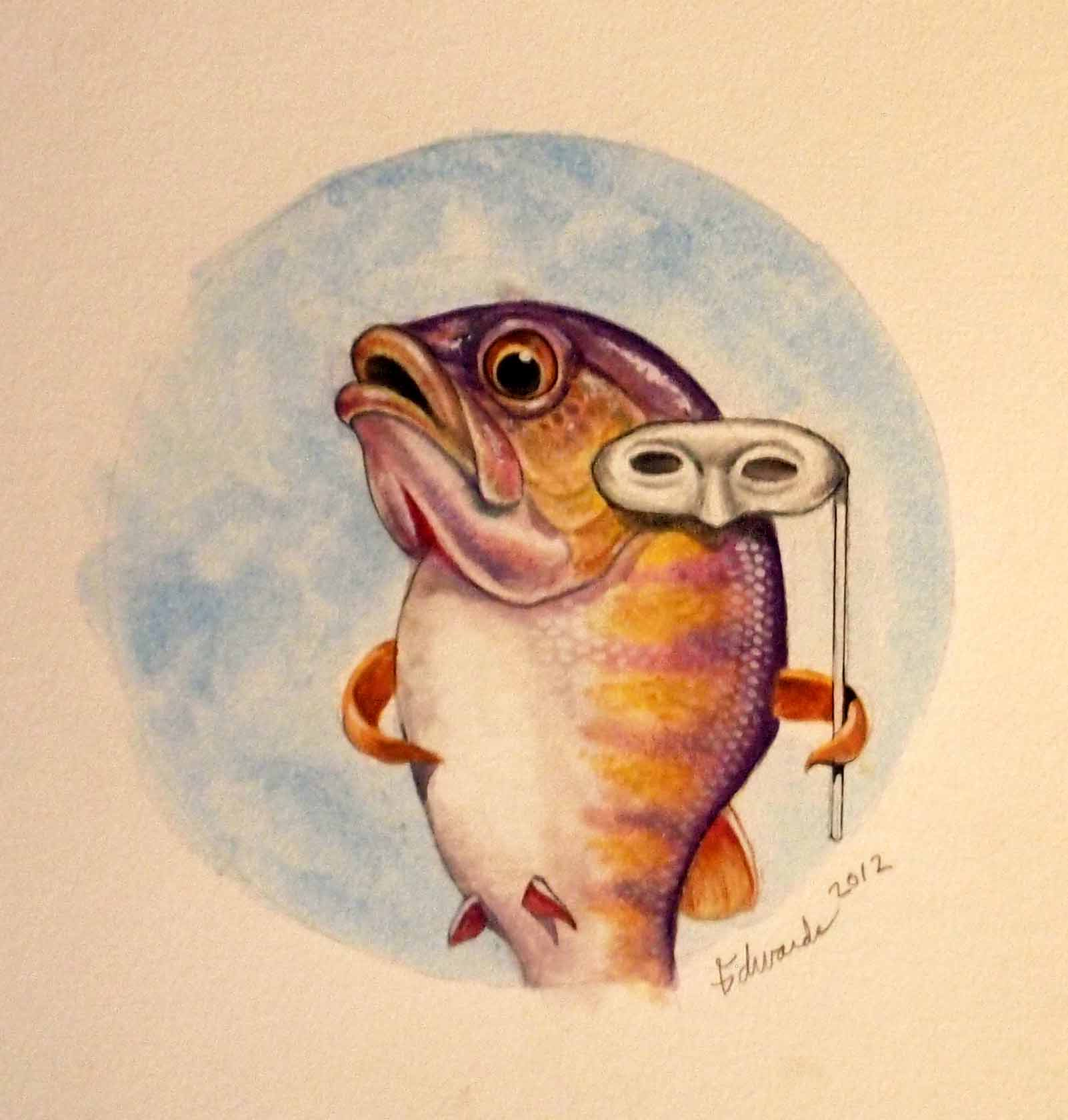 Fish  by  Wallace Edwards - Masterpiece Online