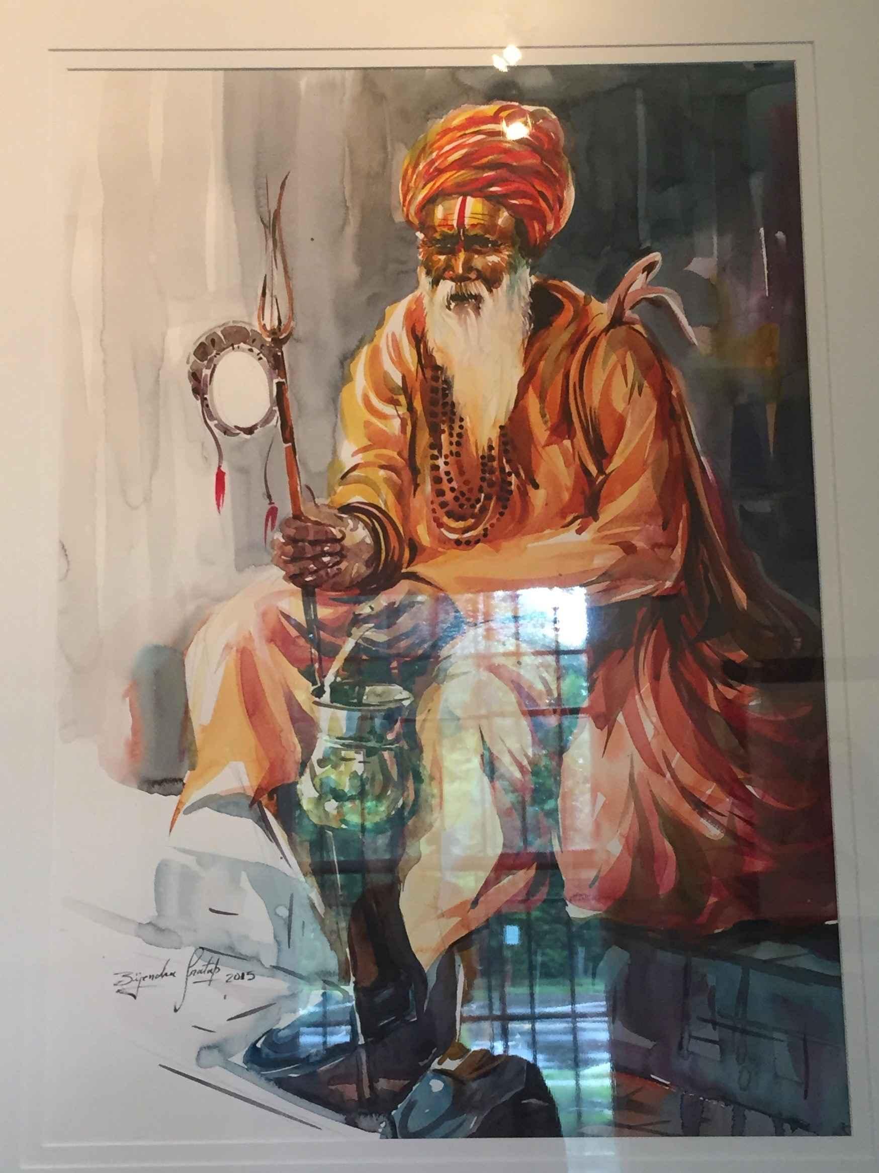 Sadhu Series (Asking ... by  Bijendra Pratap - Masterpiece Online