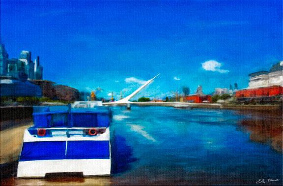 Puerto Madera in Beun... represented by  by  Elias Mina