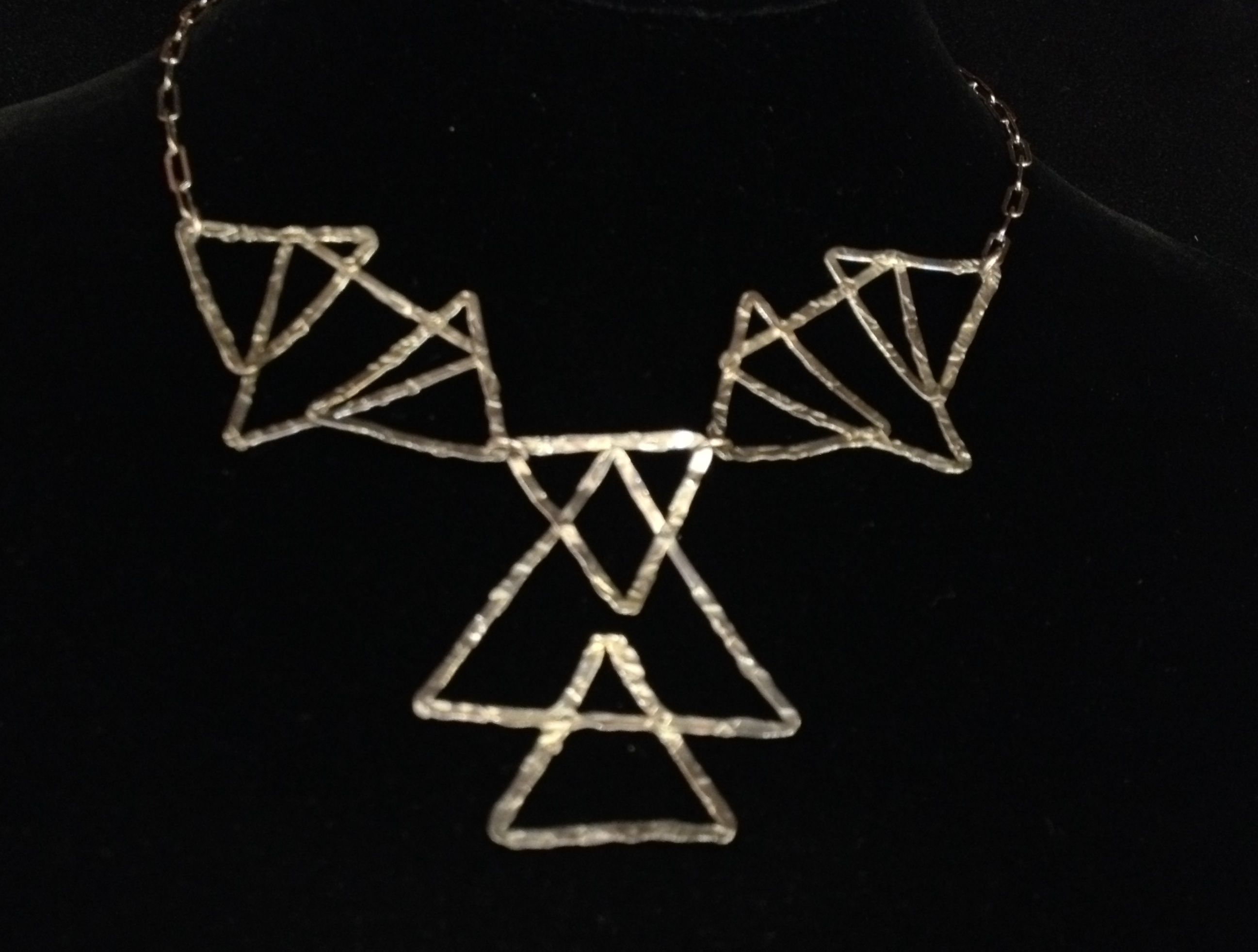 Triangles Necklace by  Dorit Herlinger - Masterpiece Online