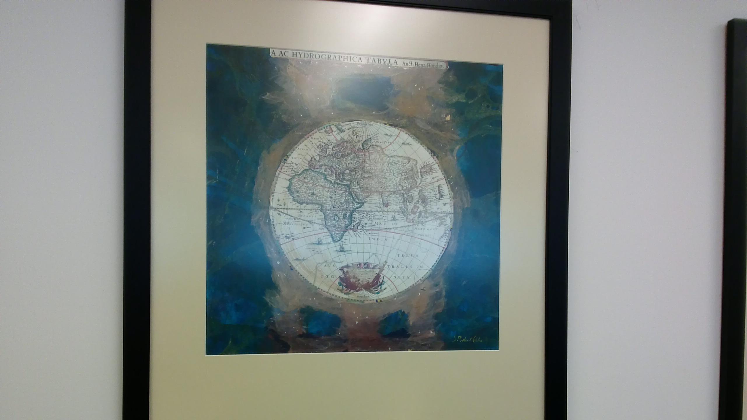 Northern Hemisphere by  J. Steel Blue - Masterpiece Online