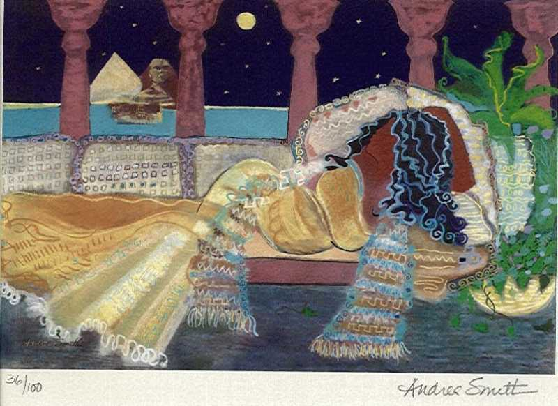 Egyptian Evening, S/N...  by  Andrea Smith