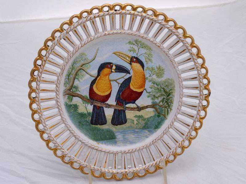 Tucan Plate by  Italian  - Masterpiece Online
