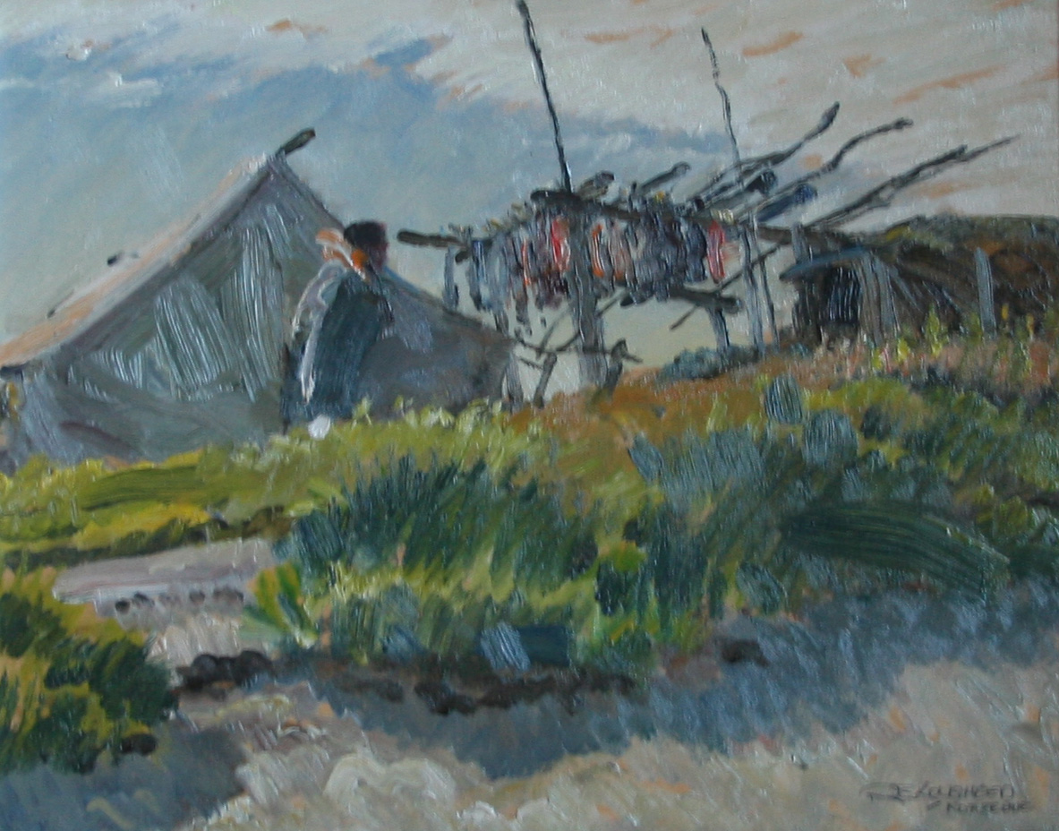 Two Homes North - Ala... by  Robert Lougheed - Masterpiece Online