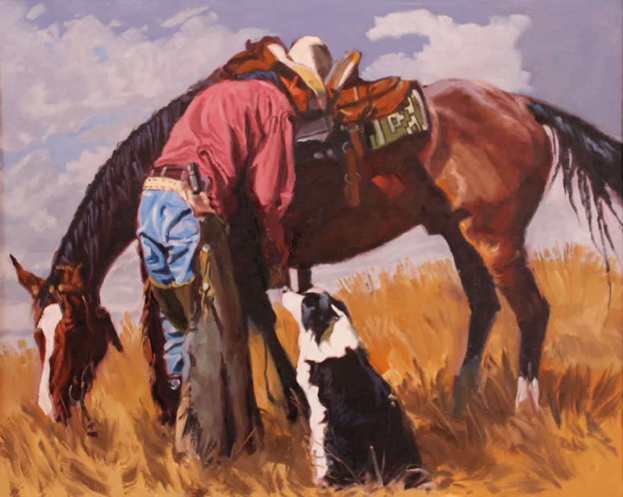 SOLD- Stirrup Adjust... by  Glen Edwards - Masterpiece Online