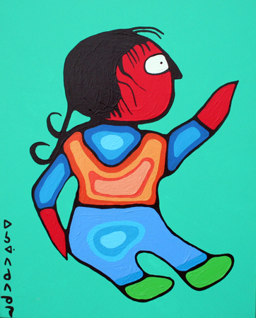 Child '85 by  Norval Morrisseau - Masterpiece Online