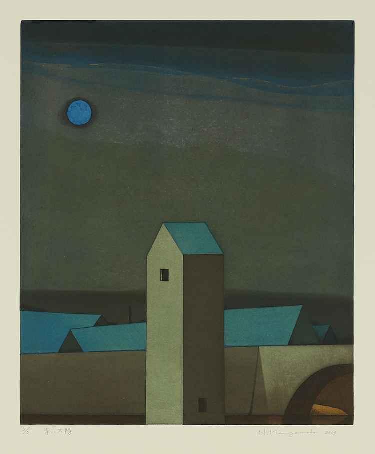 Blue Sun by  Noriwaki Miyamoto - Masterpiece Online