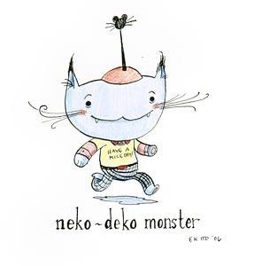 Neko-Deko Monster by  Elizabeth Ito - Masterpiece Online