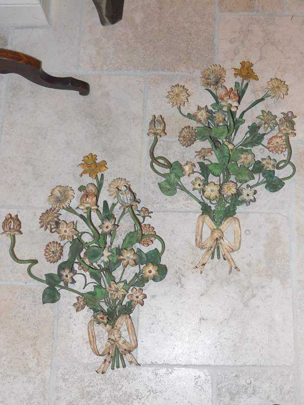 Pair of Floral Iron S... by  Italian  - Masterpiece Online