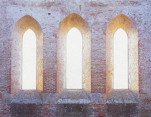 Windows, San Galgano ... by  Alison Shaw - Masterpiece Online