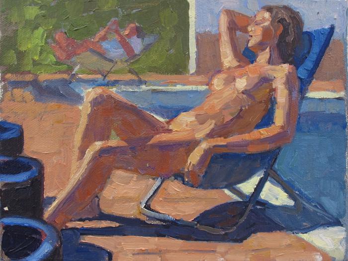 Sunday by  Melissa Hefferlin - Masterpiece Online