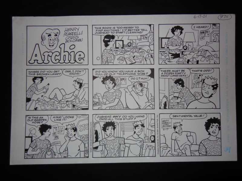 6-17-01  Archie Sunda... by  Henry Scarpelli - Masterpiece Online
