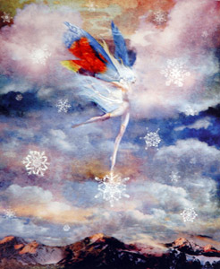 Snow Faerie  by  Greg Spalenka