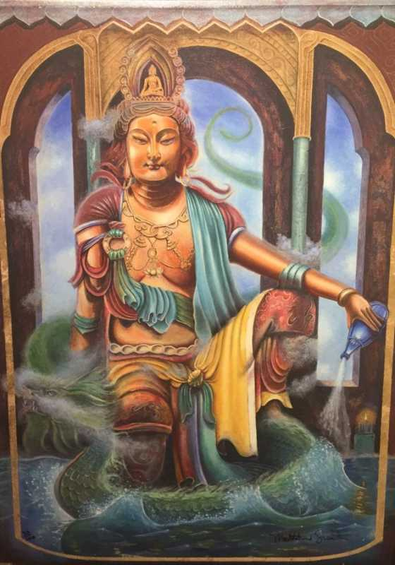 Quan Yin The Vision by  Matthew Smith - Masterpiece Online