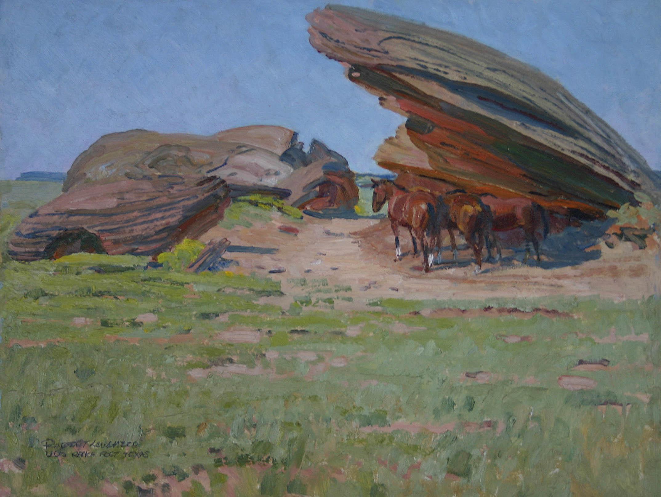 Under the Rocks - Pos... by  Robert Lougheed - Masterpiece Online