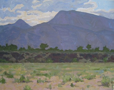 Volcanic Ledge, El Ma... by  Melissa Hefferlin - Masterpiece Online