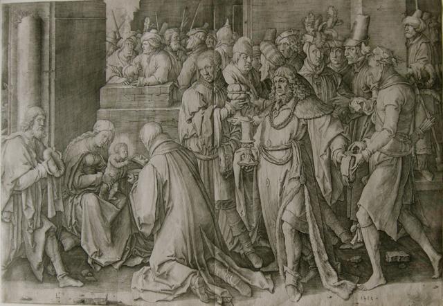 Adoration of the Magi by  Lucas van Leyden (1494-1533) - Masterpiece Online