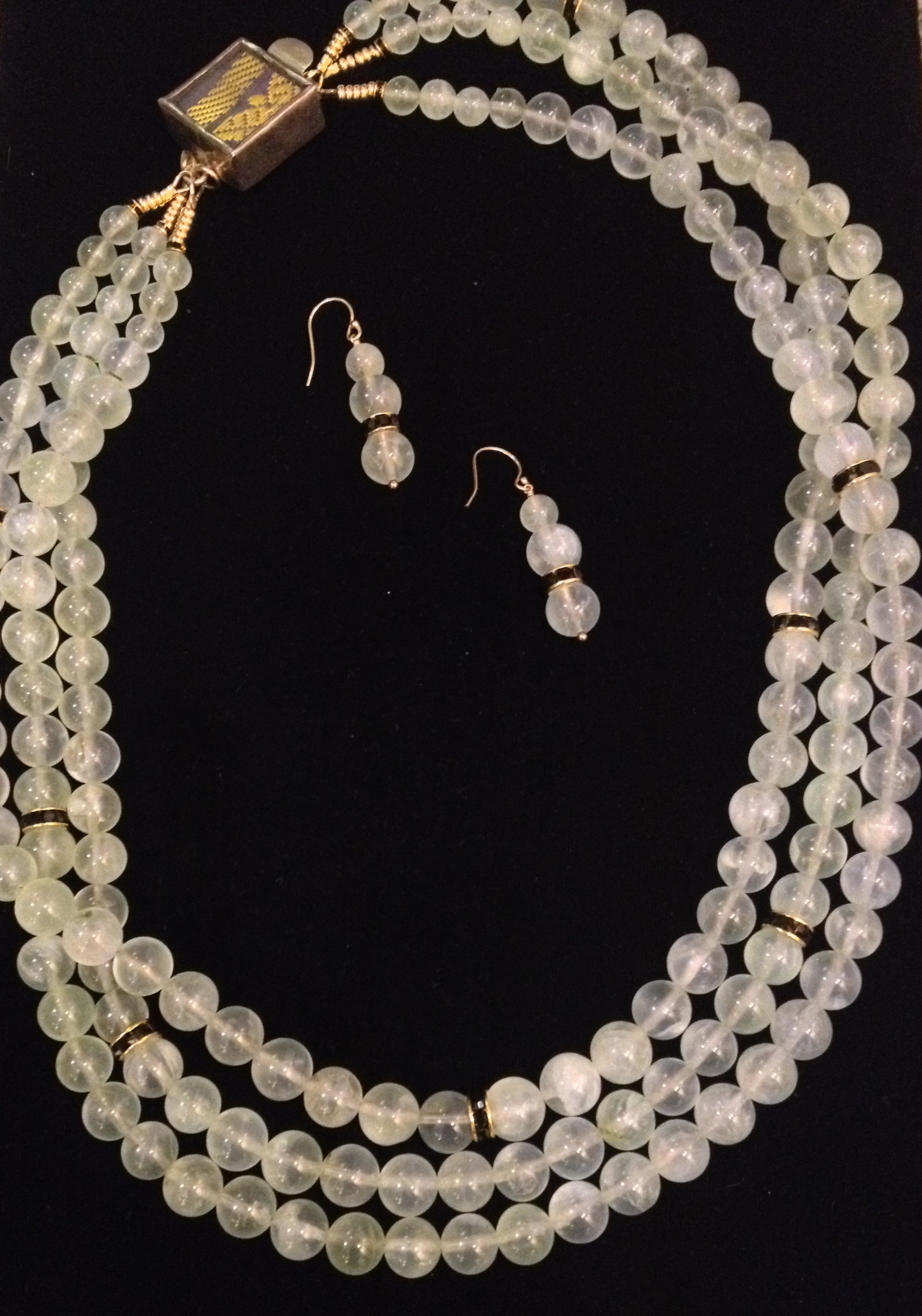 Prehnite with Crystal... by  Mary Fisher - Masterpiece Online