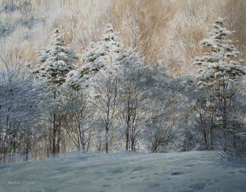 Wet Snow Early Morning by  Michael Wheeler - Masterpiece Online