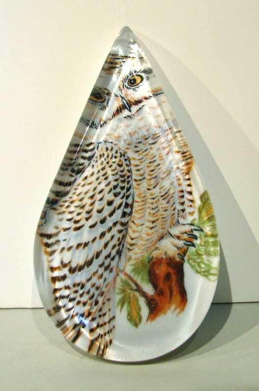 Owl Drop by  Amy Rueffert - Masterpiece Online