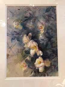 White Roses by  Nancy Motley Walton - Masterpiece Online