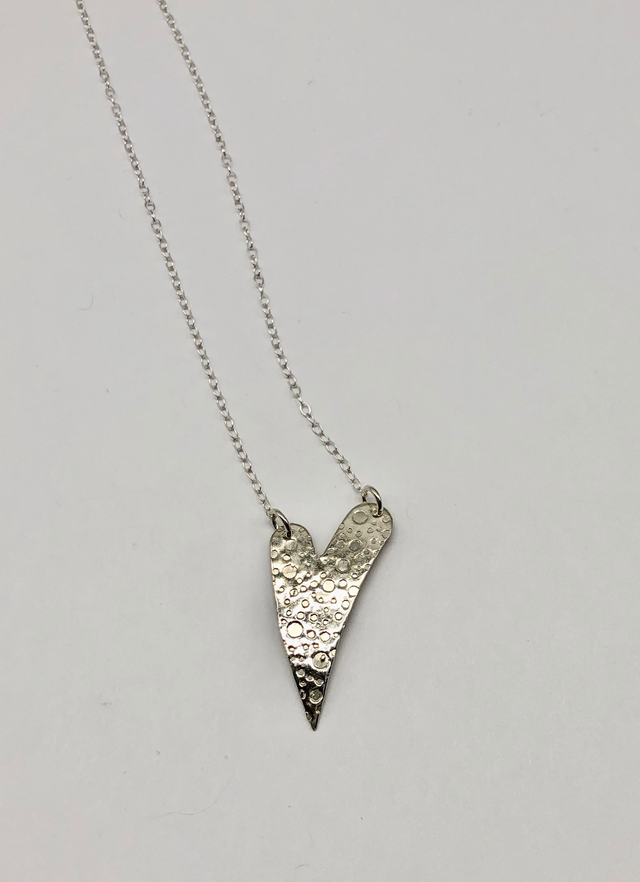 Sterling Heart Necklace (65) 16