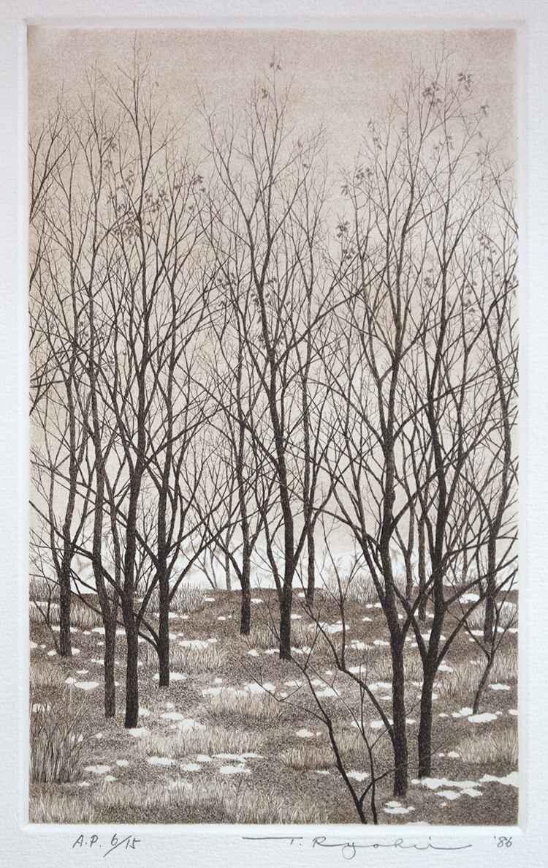 Trees on the Bank  by  Ryohei Tanaka