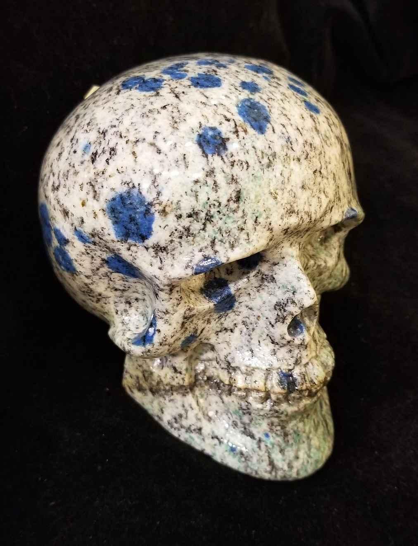 K2 Azurite Skull by  Starborn  - Masterpiece Online