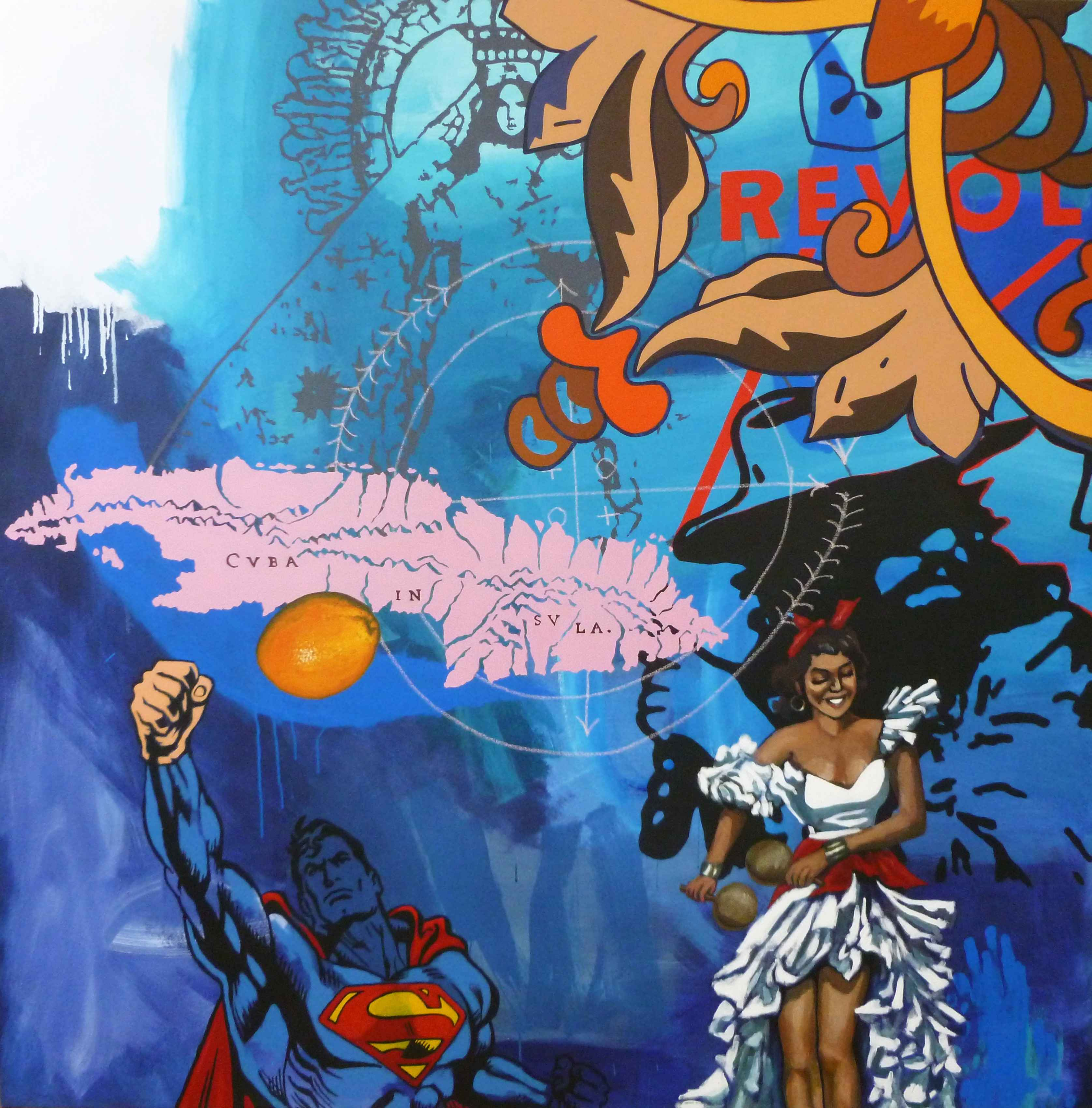 APORIA IN BLUE AND OR... by Mr. RAFAEL LOPEZ-RAMOS - Masterpiece Online