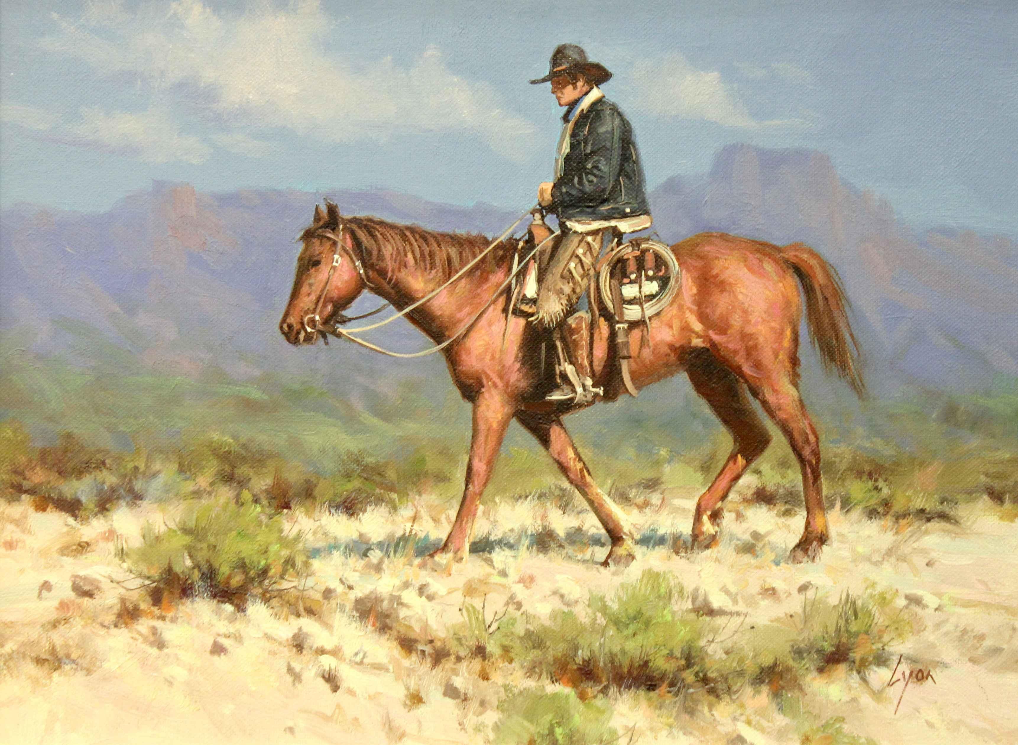 Morning Ride  by  Harold Lyon
