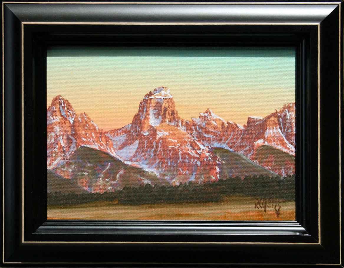 Grand Teton by  R .C. Jones - Masterpiece Online