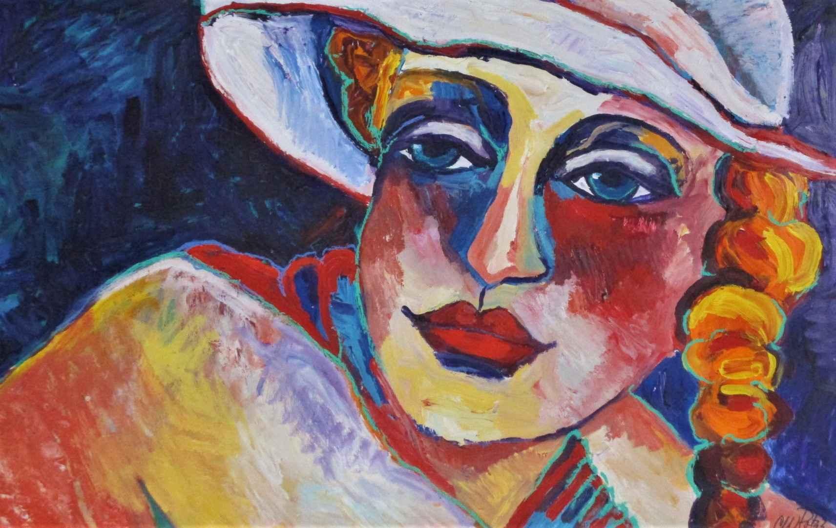 Unknown ( Woman with ... by  CW Potzz - Masterpiece Online