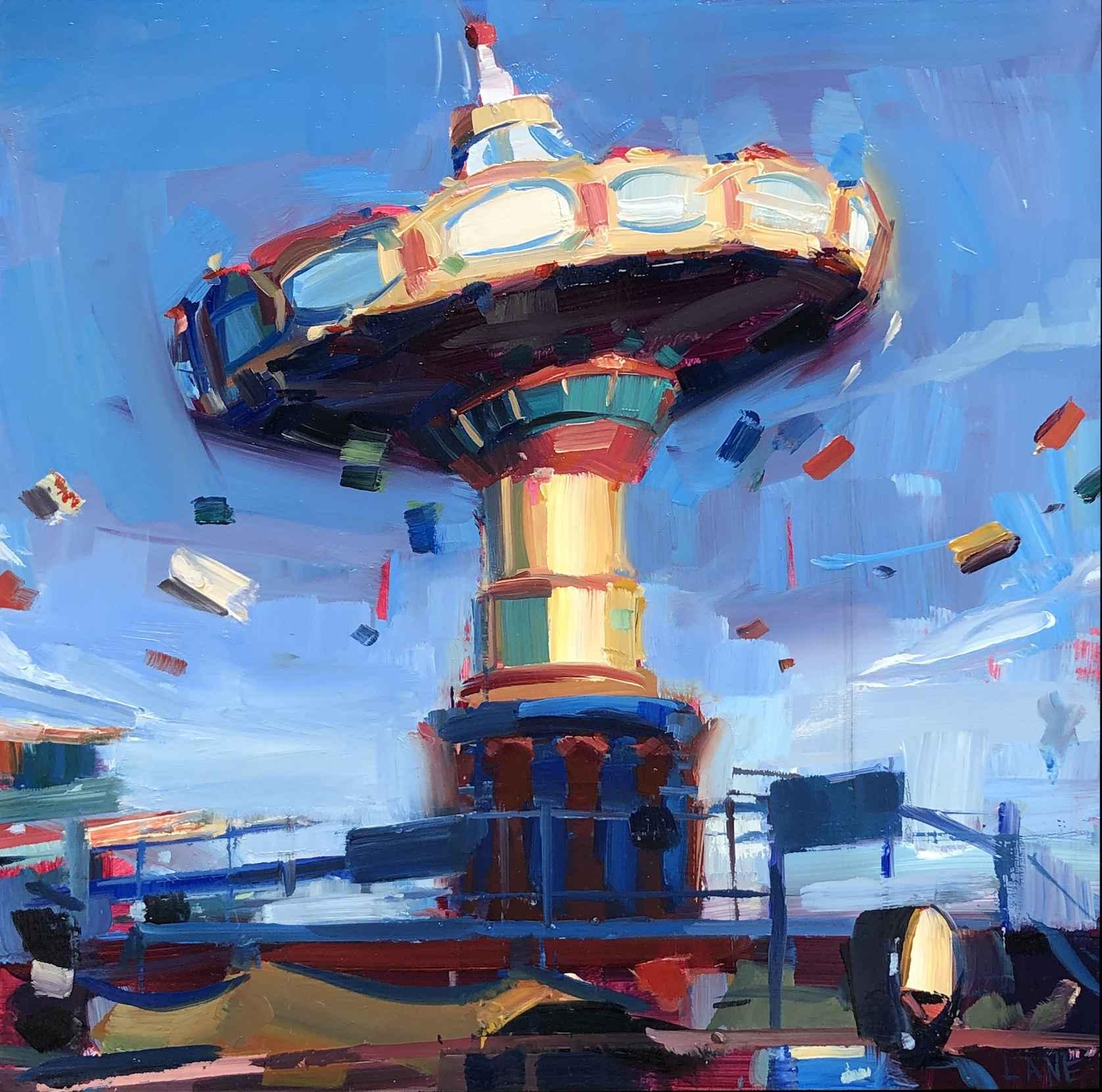 Spindrift, Afternoon by Mr. Lane Bennion - Masterpiece Online