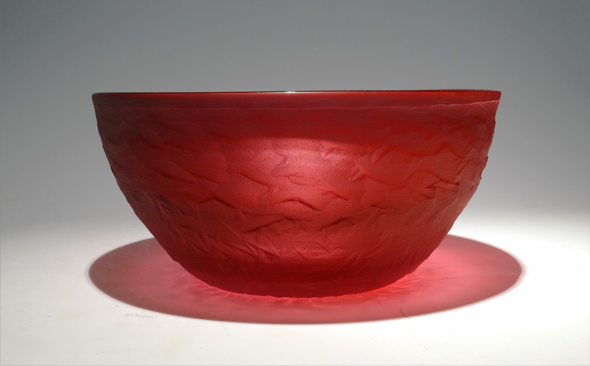 Carved Vessel/Gold Ru... by  Brad Copping - Masterpiece Online
