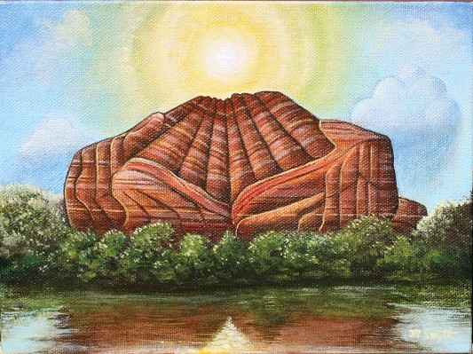 Red Rock Cathedral (H... by  Matthew Smith - Masterpiece Online