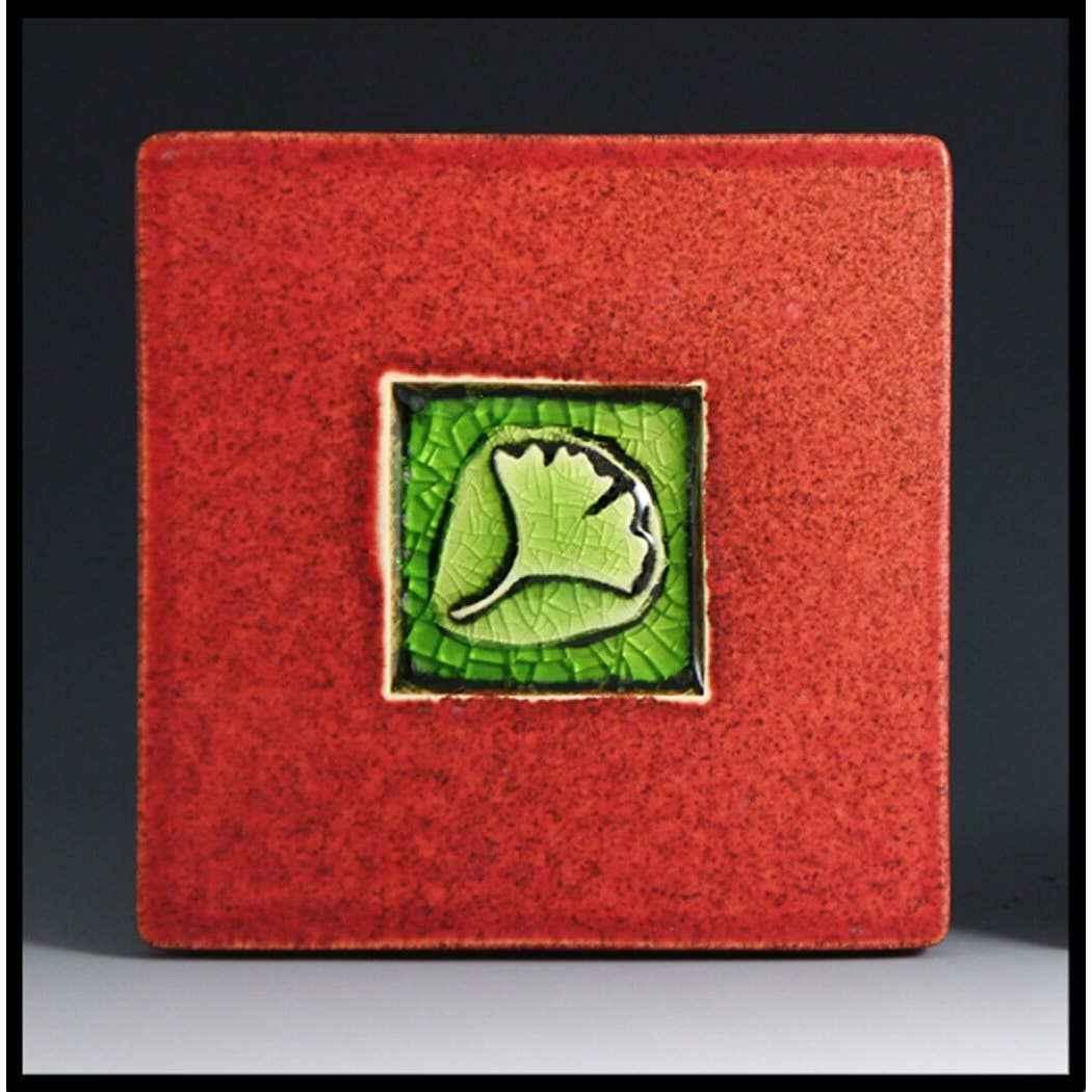 Ginko Leaf Coaster