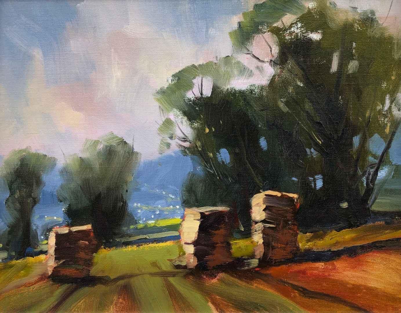 Square Bales by  Doug Swinton - Masterpiece Online