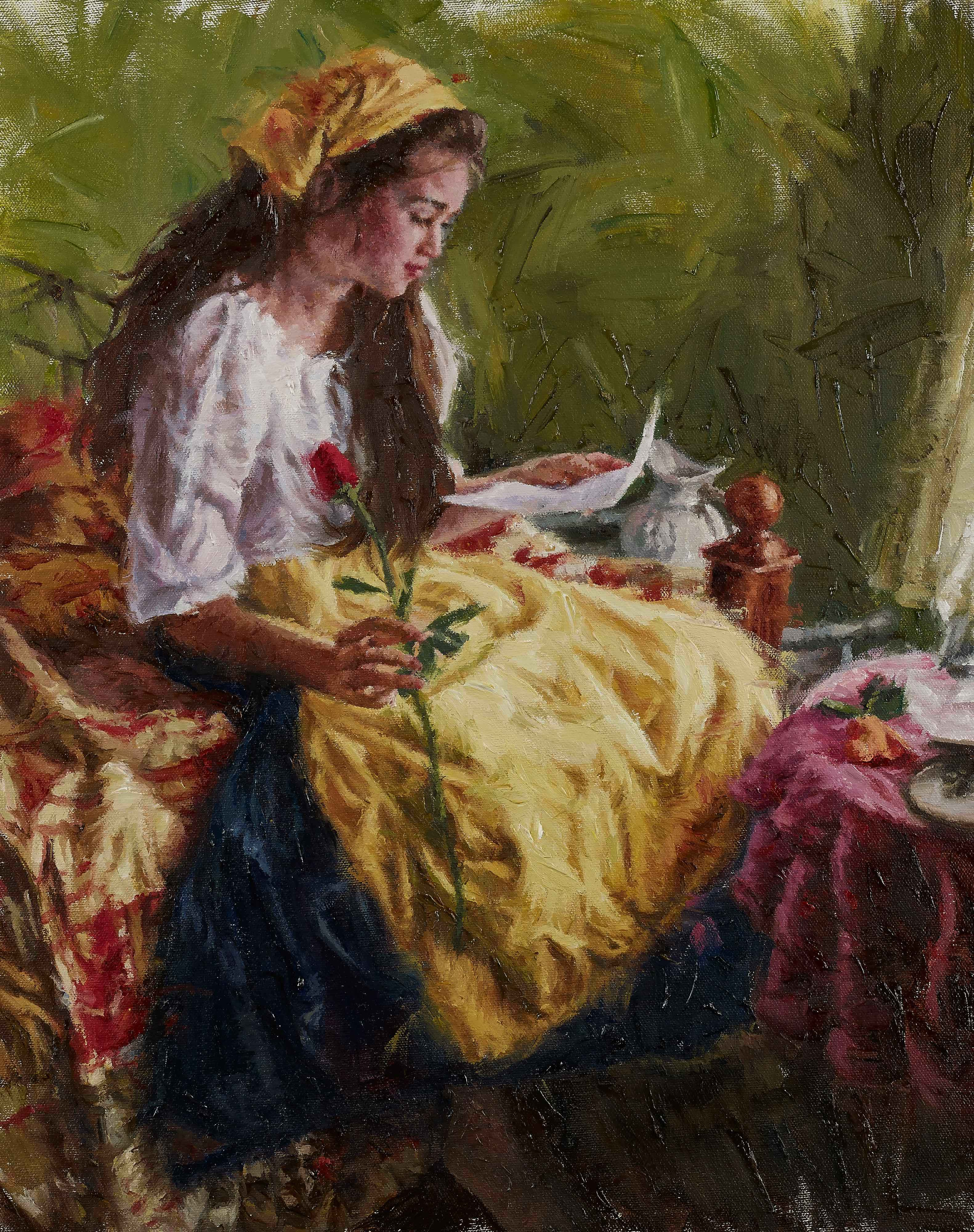 Love Letter & the Rose by  Carla D'Aguanno - Masterpiece Online
