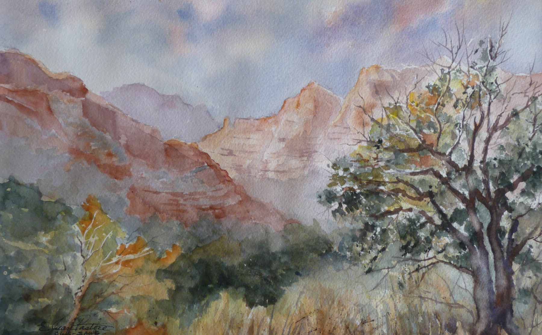 RED ROCK MAGIC by  Jean Pastore - Masterpiece Online