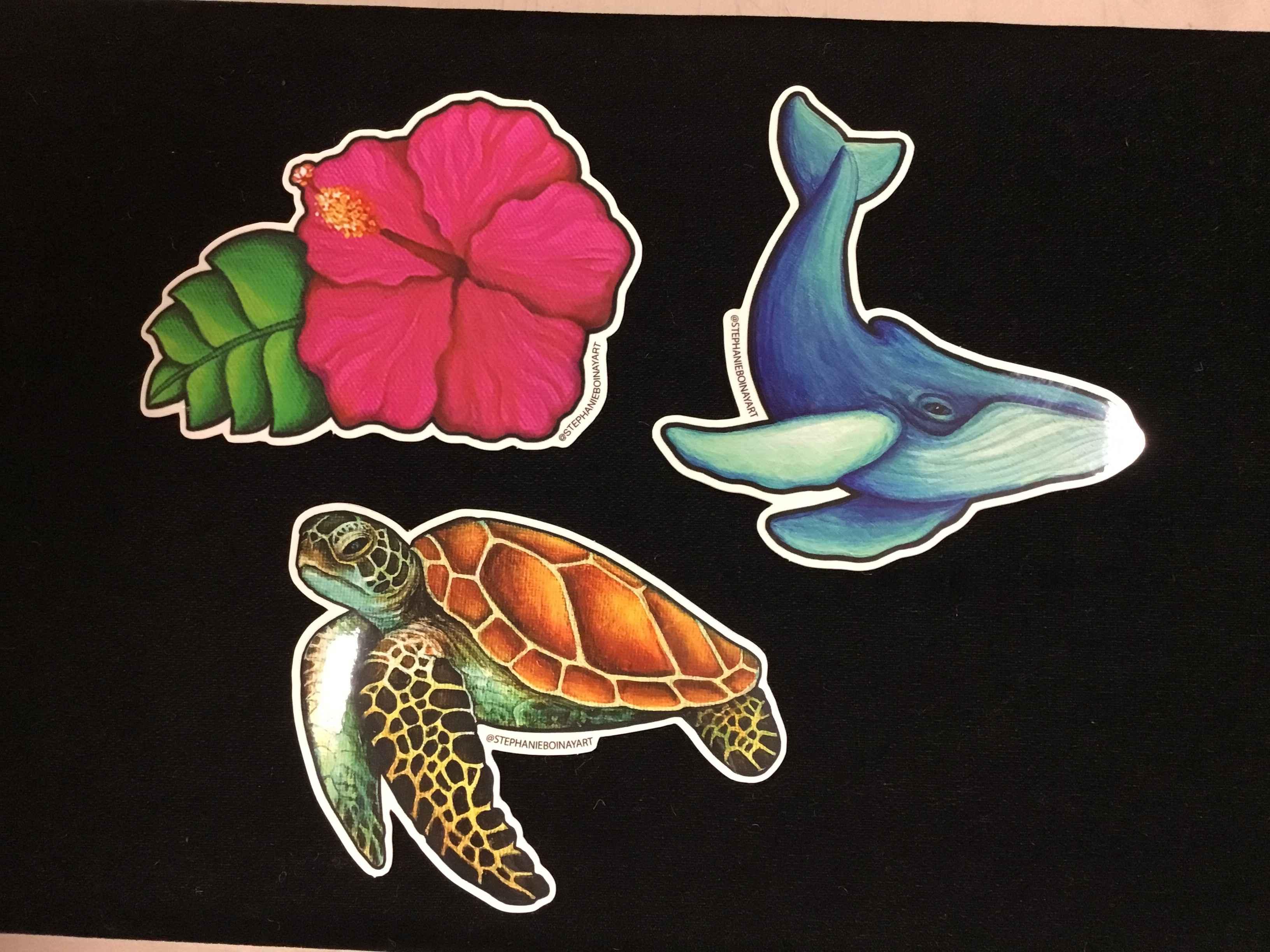 SBS4 4-Inch Sticker by  Stephanie Boinay - Masterpiece Online