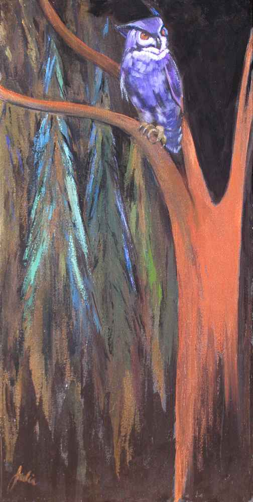Party Night Owl by MS Julia Lucich - Masterpiece Online