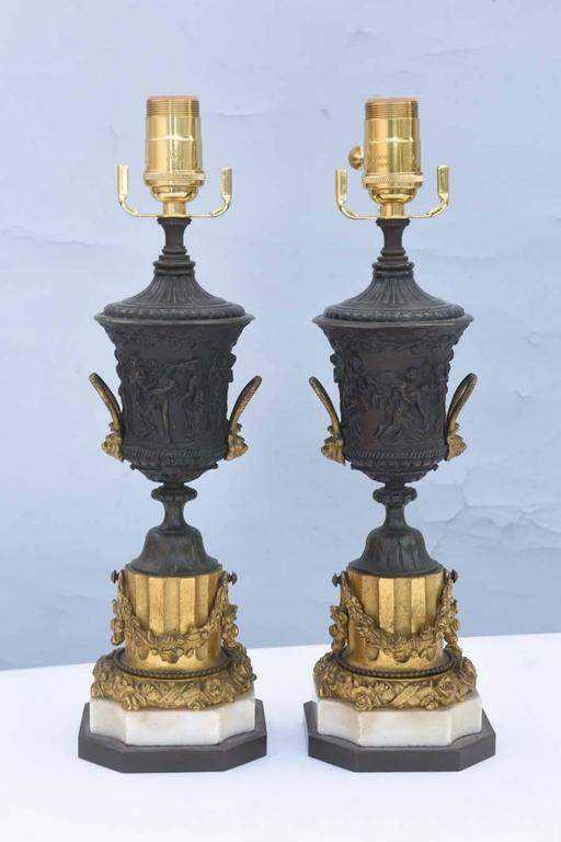 Fine Pair of Patinate... by  French  - Masterpiece Online