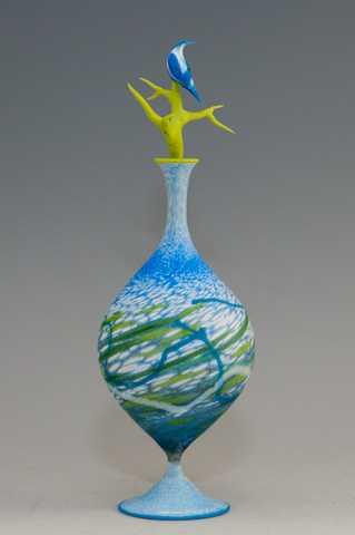 Bluebird Bottle by  Shane Fero - Masterpiece Online