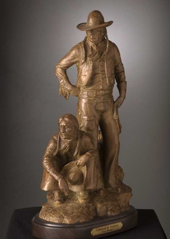 Cowboys and Indians by  Paul Moore - Masterpiece Online